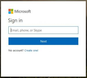 How to reset Outlook password login page