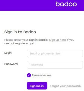 Reset Badoo Password