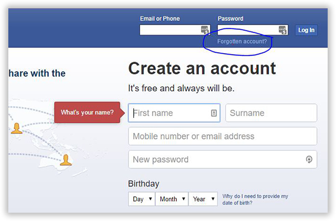 How To Reset Facebook Password