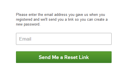 Reset Hulu Password Link