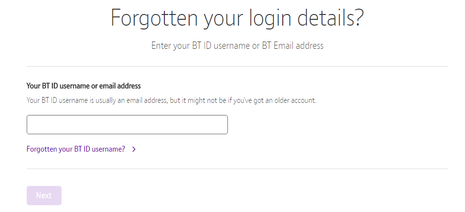 Reset Btinternet Mail Password Login Detail