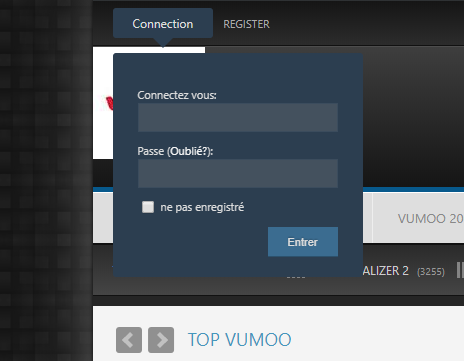 Reset And Change Vumoo Login Password