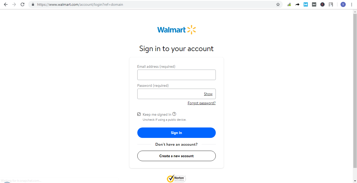 How To Log In and Reset Walmart Account